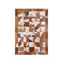 Cowhide Leather Rug (India)