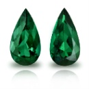 Pair of Colombian Emerald (USA)