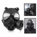 M04 Dummy Gas Mask Black with Fan for Airsoft Paintbal Cosplay Protection Gear (Hong Kong)