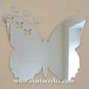 Butterfly Acrylic Mirror (China)