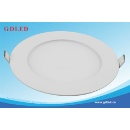 9w Panel Light, round shape , surface mounted, Epistar chip SMD4014 commercial used  (China)