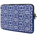 Organic Blue Neoprene Laptop Sleeve (Hong Kong)