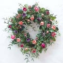 Wreath with Artificial Flowers of Spring (Hong Kong)