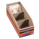Three-Compartment Stationery Holder  (Hong Kong)