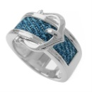 925 Sterling Silver Buckle Ring (Hong Kong)