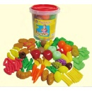 100pc Bucket Of Playfood Set (Hong Kong)