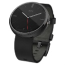 Motorola Moto 360 Smartwatch Black Horween Leather Strap (Hong Kong)