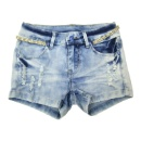 Ladies' Stretch Denim Shorts (Hong Kong)