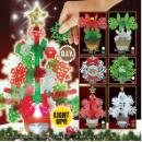 D.I.Y. Christmas Tree & Ornament With Light (Hong Kong)
