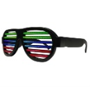 LED Sound Reactive Glasses with Rechargeable Batteries (Hong Kong)