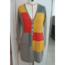 Ladies Knitted Cardigan with Multi Color (Hong Kong)