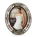 Colorful Jewelry Decoration Vintage Metal Photo Frame /Picture Frame (China)
