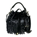 Leather Fringe Bag (Hong Kong)