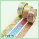Designed Pattern Glitter Tape for Handicraft (Taiwan)