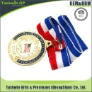 USA Military Medal and Flag Medal with Ribbon for Promotional (Hong Kong)