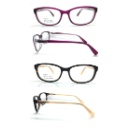 Acetate Optical Frame For Lady Double Color For Metal Part (China)