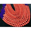 Coral Round Beads (Taiwan)