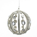 Jewled Wire Ball Ornament (Hong Kong)