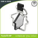 Blank House Shaped Metal Keychain (Hong Kong)