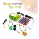 Functional Solar LED Emergency Light Set  (China)