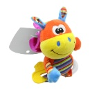 Baby Crib Toy Teether with Ring Rattle (Hong Kong)