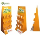 Cardboard Floor Supermarket Rack Pop up Display Stand (Hong Kong)