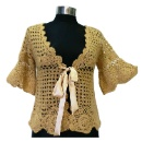 Ladies Hand Crochet Cardigan (Hong Kong)
