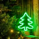 Neon Christmas Tree Table Lamp  (Hong Kong)