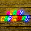 LED Christmas Words Marry X'mas Neon Light (Hong Kong)