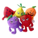 Plush Stuffed Soft Fruit Toys Strawberry (China)