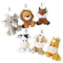 Stuffed Soft Plush Forest Animal Toys (China)