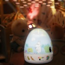 Moomin Running Carrousel Projector with Lullaby (Hong Kong)