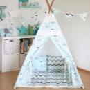 2017 Individual Clouds Splicing Indian Children's Tipi Tent Indoor (China)
