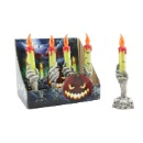 Flameless LED Halloween Decorated Candle (Hong Kong)