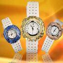 Square Crystal Watch With Changeable Crystal Cases (China)