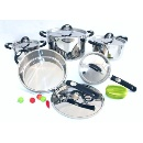 Cut-edge Stainless Steel Cookware Set (China)