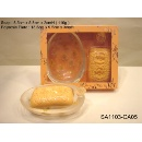 Soap and Inclusion Holder Gift Set - Poppy Scented (Hong Kong)
