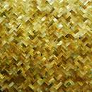 Yellow Mop Shell Mosaic Tile (China)