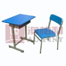 Fixed Single Desk & Chair (China)